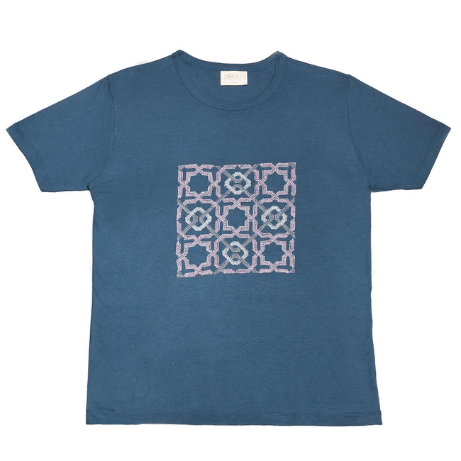 Bamboo T-shirt Blue