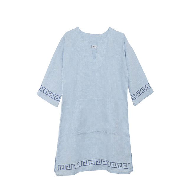 Short Linen Tunic Dress