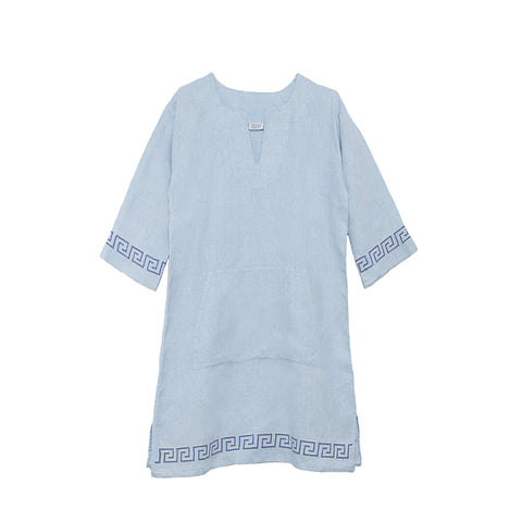 BLUE BAMBOO T-SHIRT