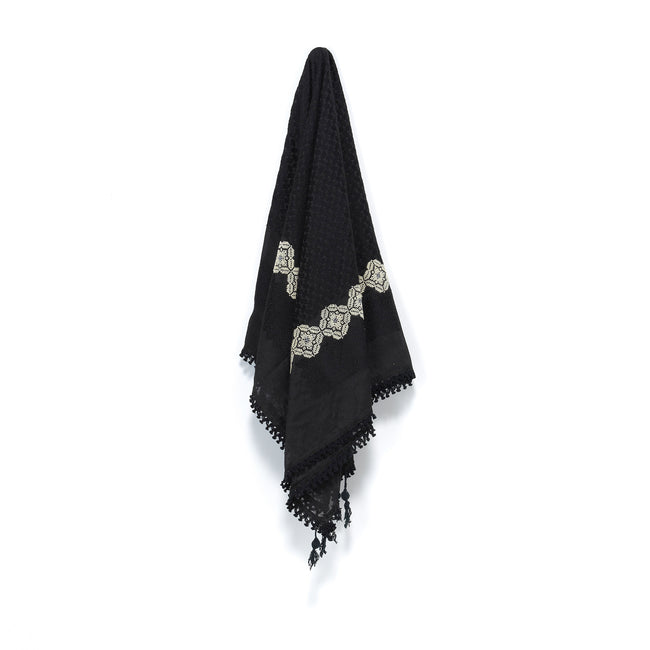 Black-on-Black May Keffiyeh
