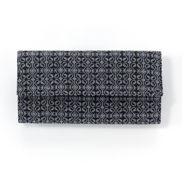 stylish clutch bag hand-embroidered ethical luxury