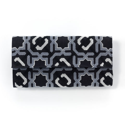 Zipper Pouch, Triangles