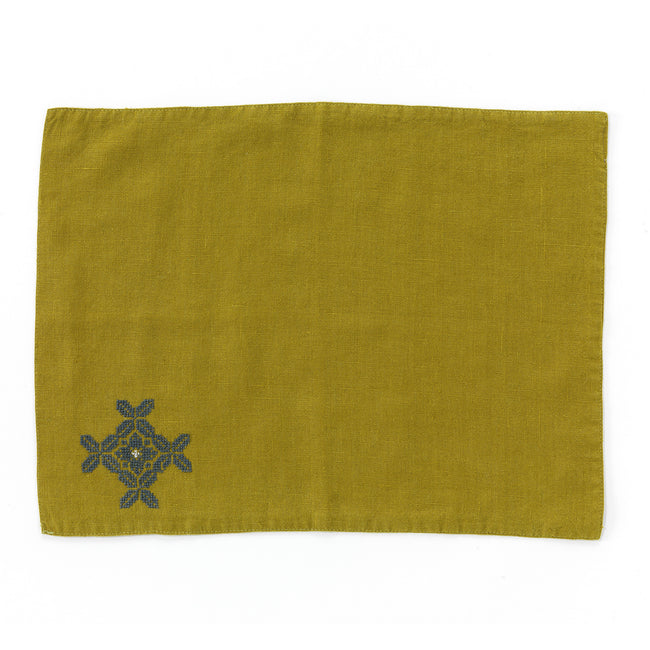 Linen Placemats Poppy