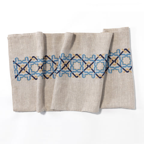 Terry Cotton Towel, off-white, Sultan Han® pattern