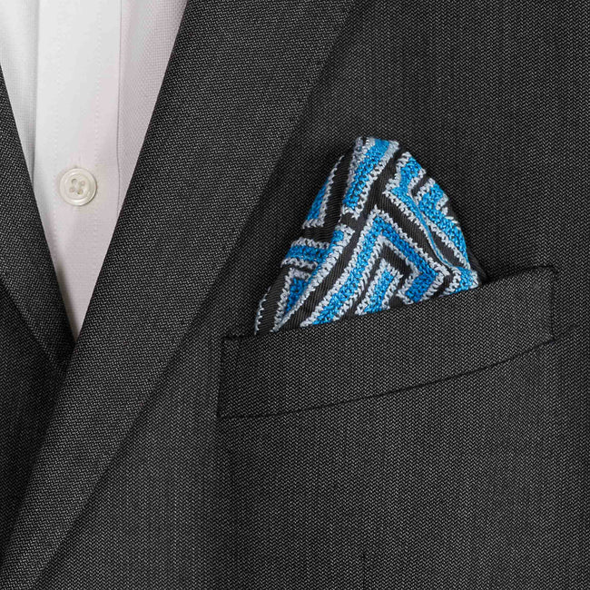 Hand Embroidered Pocket square