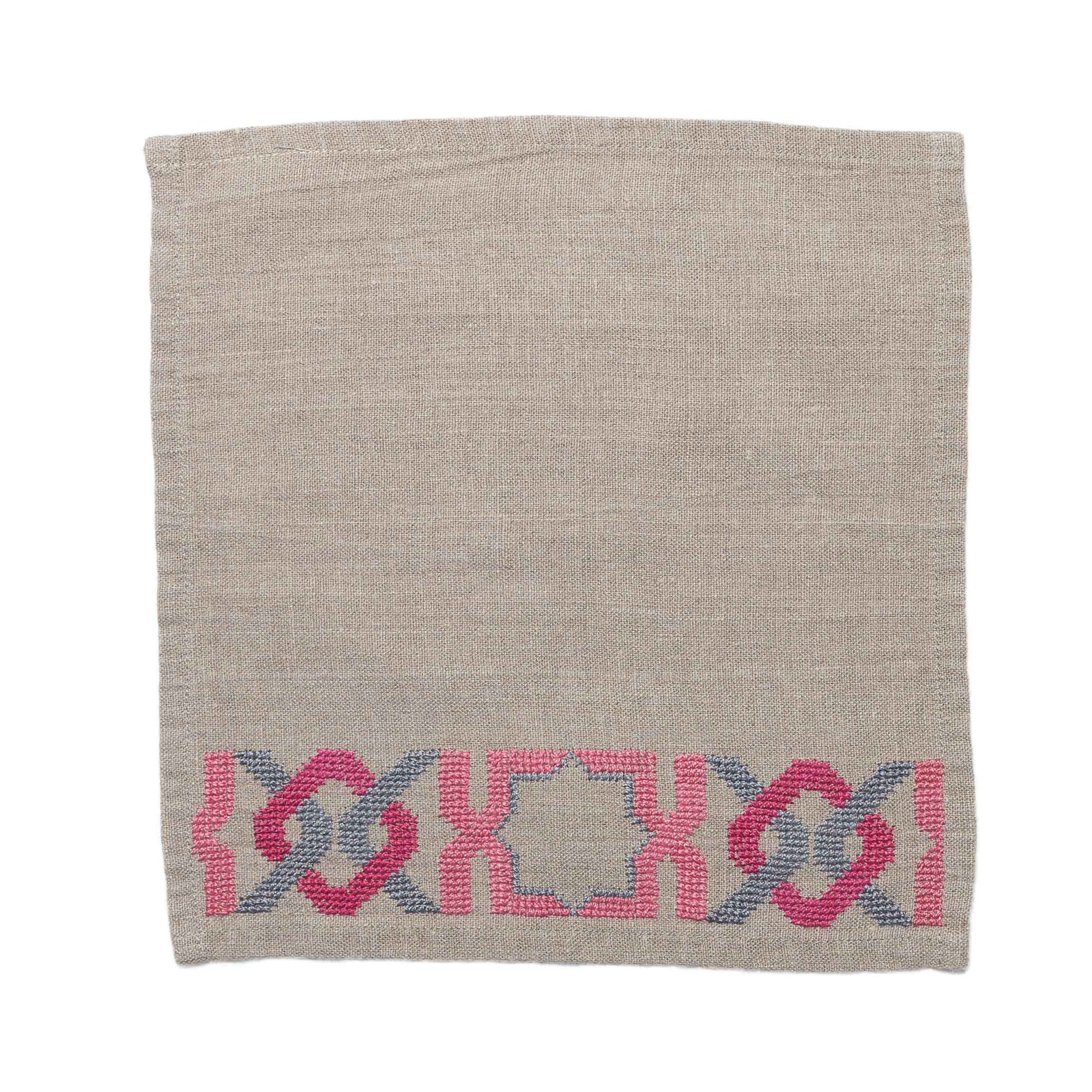 SOFTENED LINEN TOWEL SUNSET PINK ALHAMBRA®