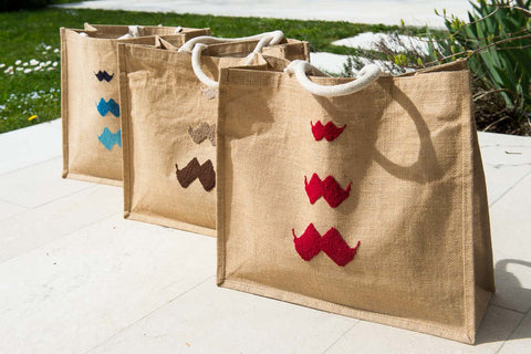 Jute totes, our first product