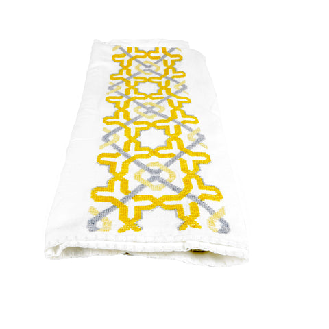 WHITE COTTON BABY CUSHION COVER ALHAMBRA®