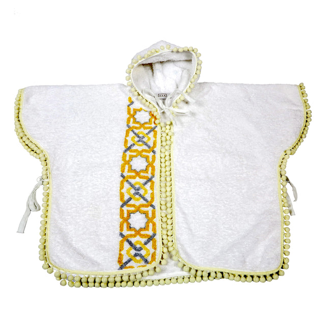 Baby Towelling Poncho, Alhambra