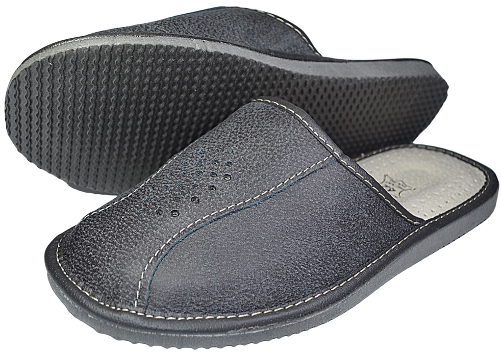 Apollo mens slippers - Reindeer Leather6