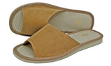 Blossom Natural Suede Leather Traditional Slippers