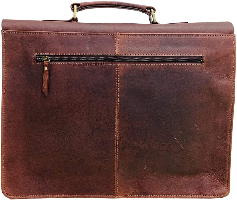 Delius Handmade Vintage Leather Messenger Bag4