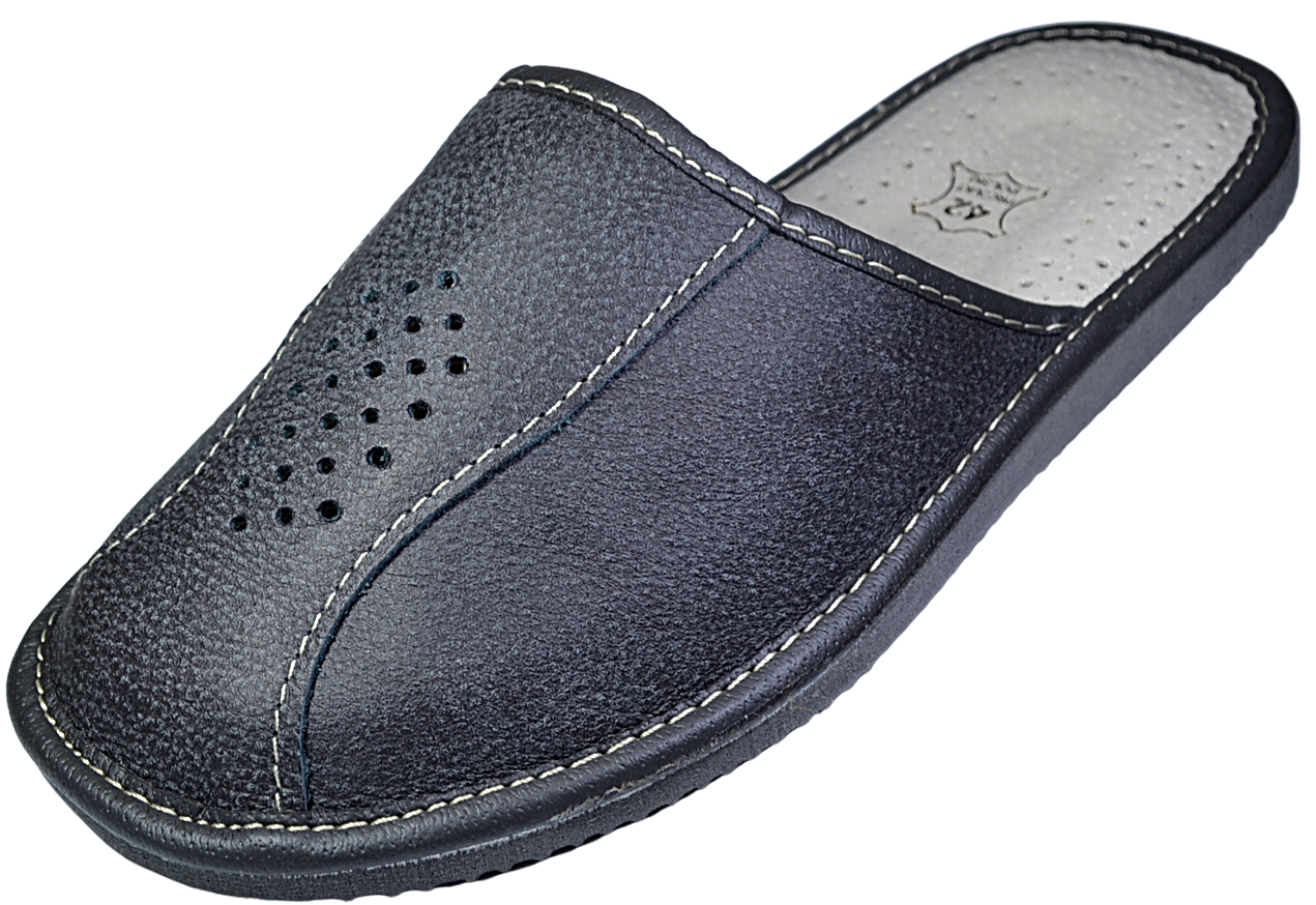 Apollo mens slippers - Reindeer Leather1