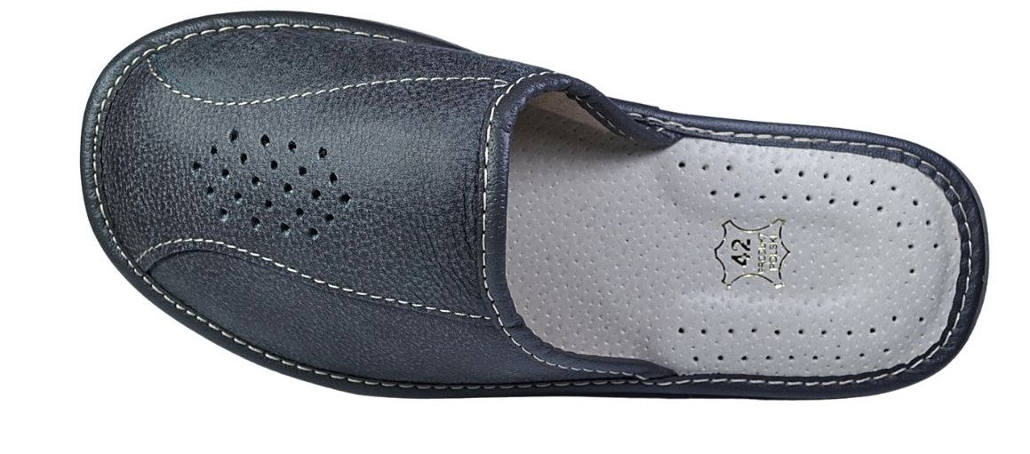 Apollo mens slippers - Reindeer Leather3