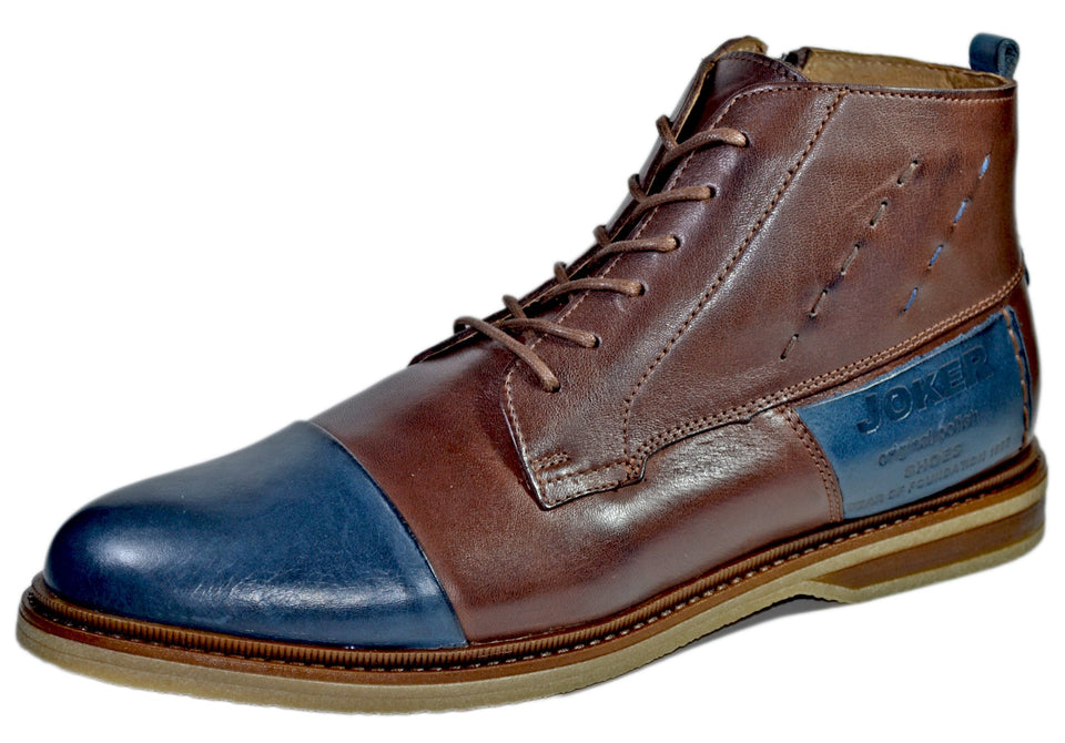 Rudolf Leather Cap toe Boot For Winter - Reindeer Leather