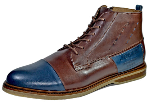 Rudolf Leather Cap toe Boot For Winter
