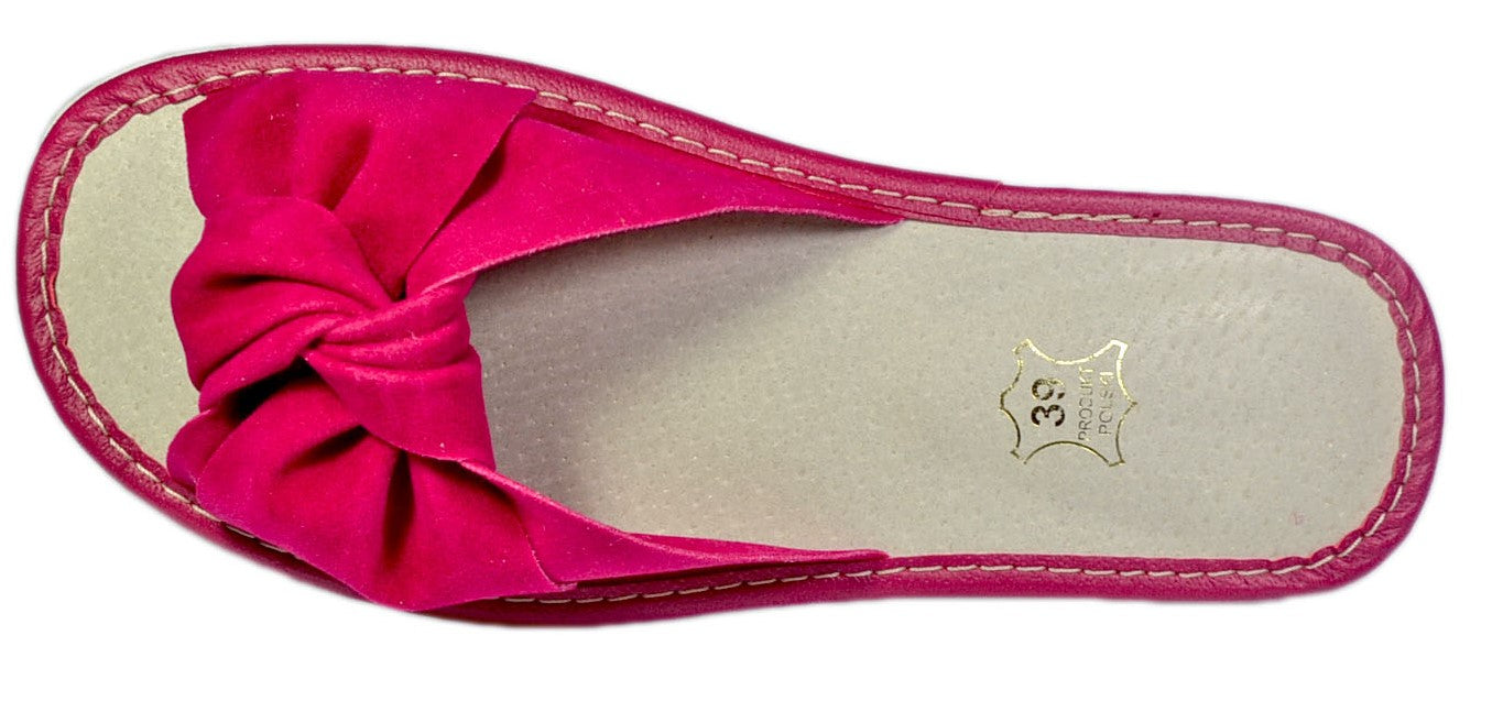 Demi women backless open toe slippers - Reindeerleather6