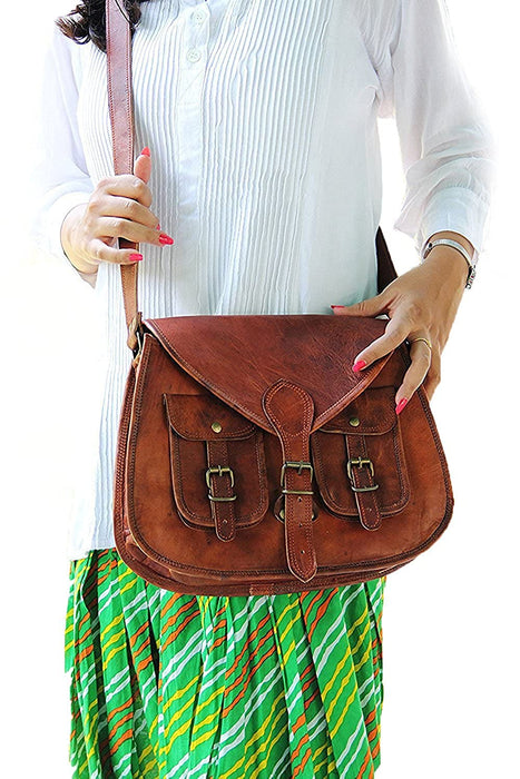 Carola Women Purse Satchel Shoulder Bag - Reindeerleather2