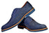 AGDA Men's Oxford Casual Brogue Casual Shoes - Reindeer Leather2