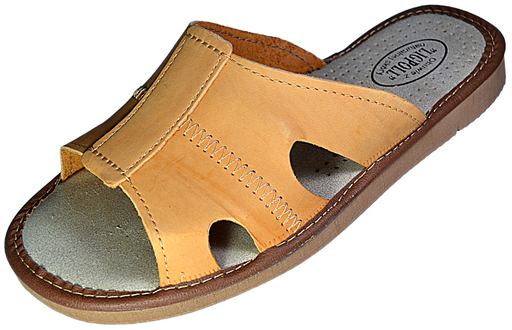 Jan mens leather flip flop - Reindeer Leather