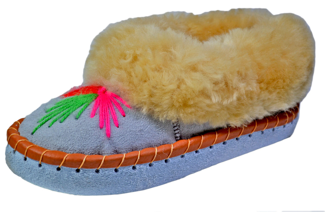 Megan Moccasin Style Winter Fur Bootie