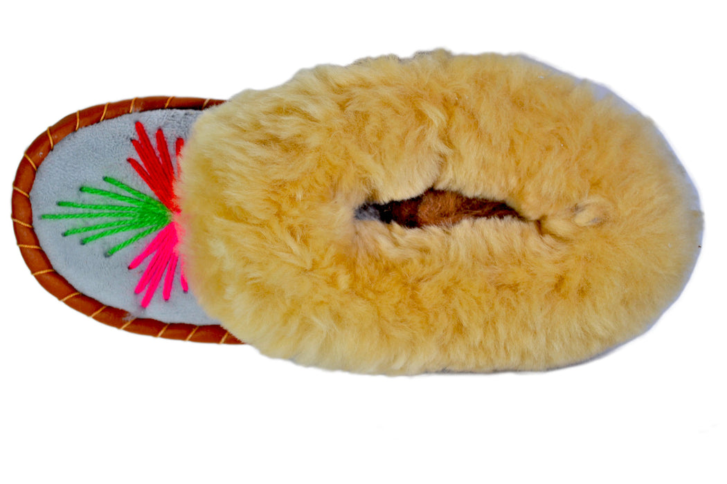 Megan Moccasin Style Winter shoes - Reindeerleather3