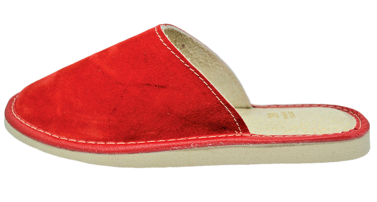 Ceries Suede house slippers for women - Reindeerleather2