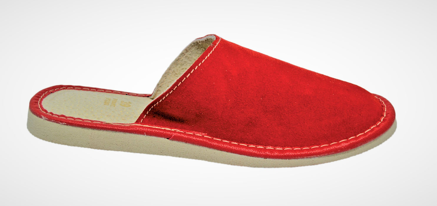 Ceries Suede house slippers for women - Reindeerleather3