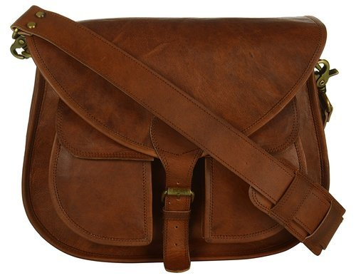 Isabella Antique Leather satchel bag - Reindeer Leather3