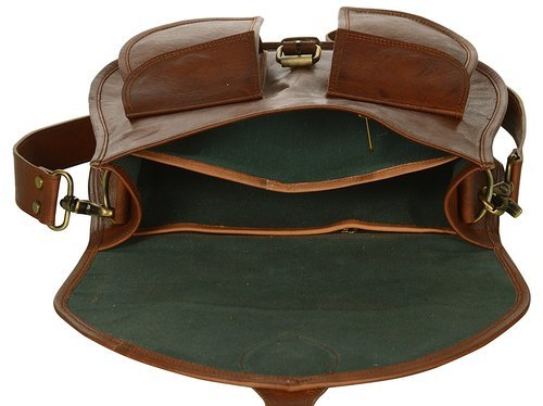 Isabella Ladies Antique Leather Satchel Crossbody Bag