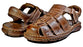 Joker | mens brown leather sandals - Reindeer Leather5