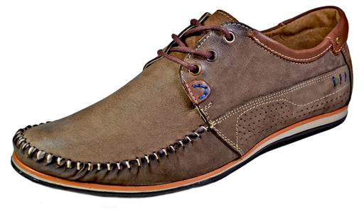 Komodo | moccasins leather casual shoes - Reindeer Leather