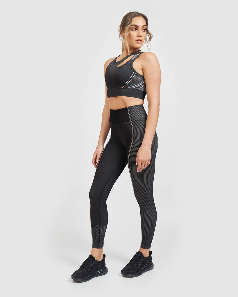 Core Trainer Lulu Tights Charcoal