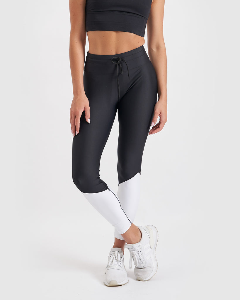 Core Trainer Climb Tights Black/White
