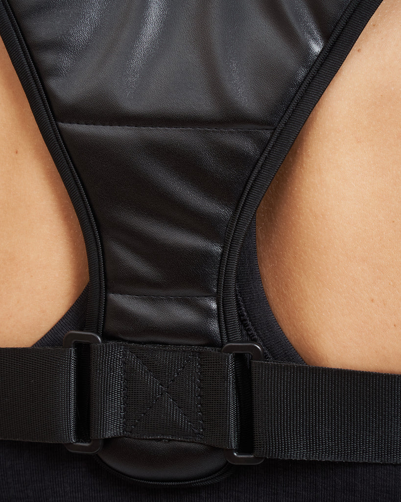 Core Trainer Back Support Brace Black