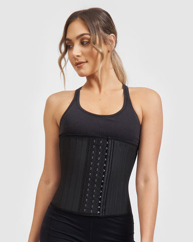Core Trainer Everyday Breathable Non Latex Waist Trainer Nude