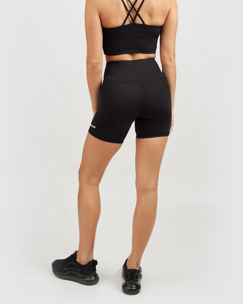 Core Trainer Lara Active Bike Shorts Black