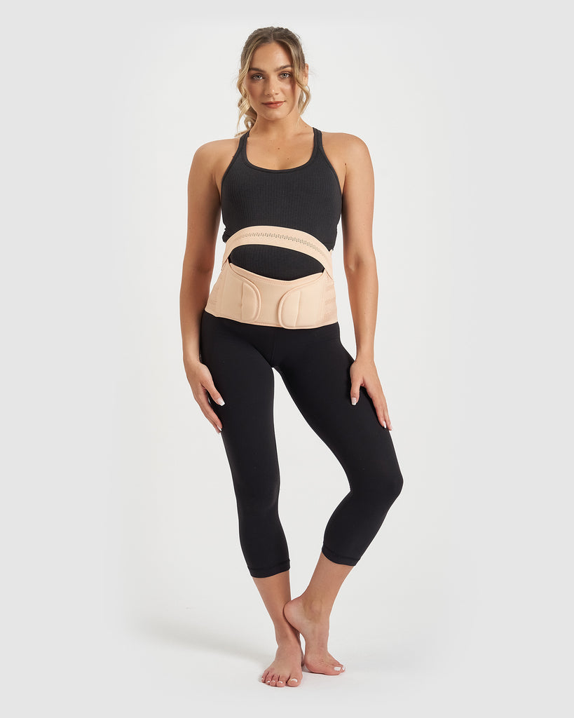 Core Trainer Maternity Belly Band Nude