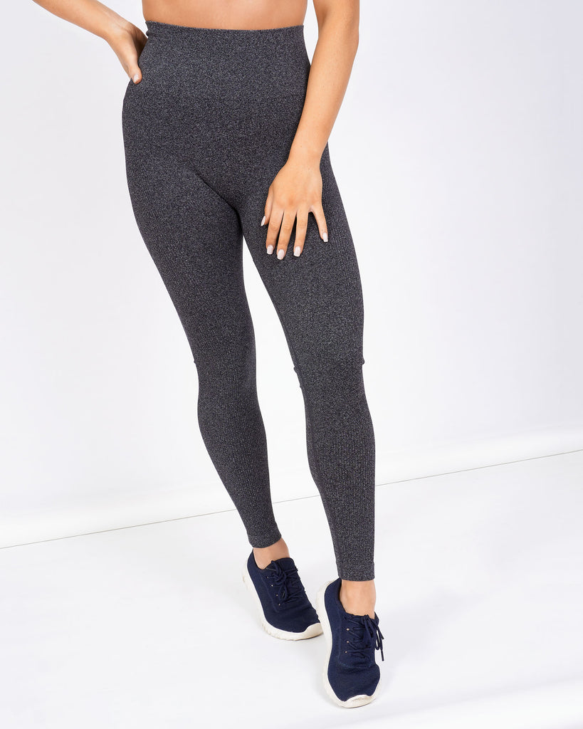 Core Trainer Dominate Seamless Tights Charcoal