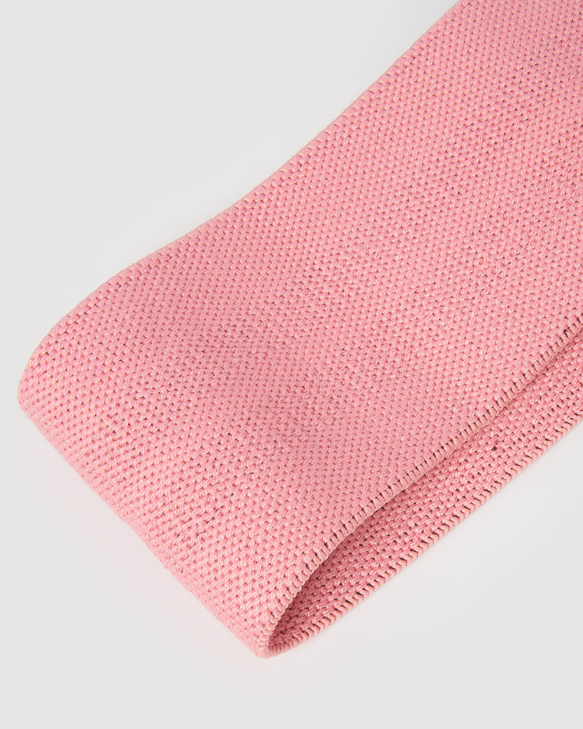 Core Trainer Fabric Resistance Band Pink