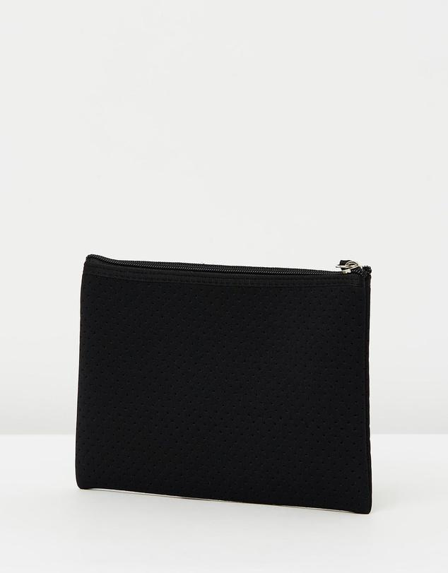 Miz Casa & Co Small Neoprene Pouch Black