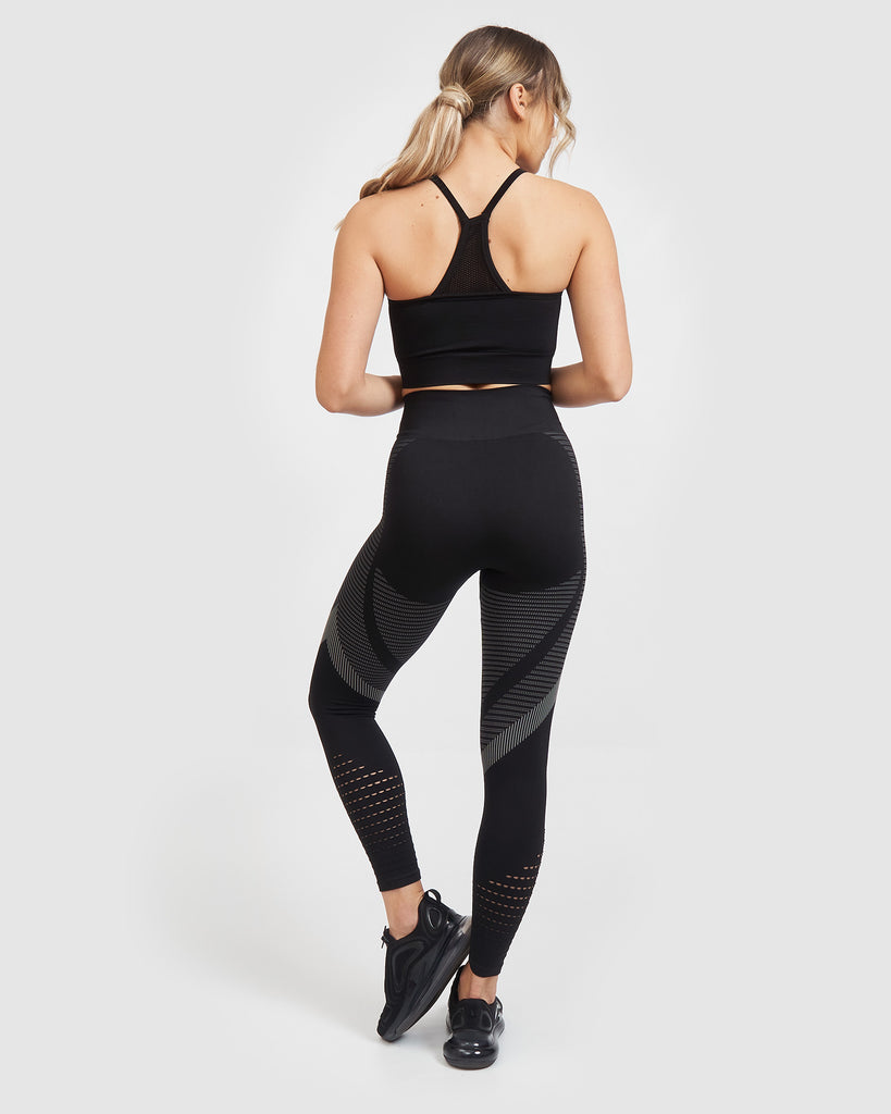 Core Trainer Synergy Tights Solid Black