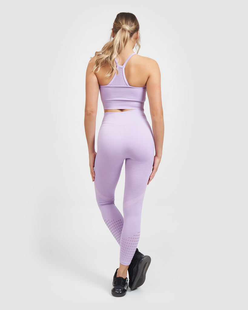 Core Trainer Synergy Active Bra Lilac