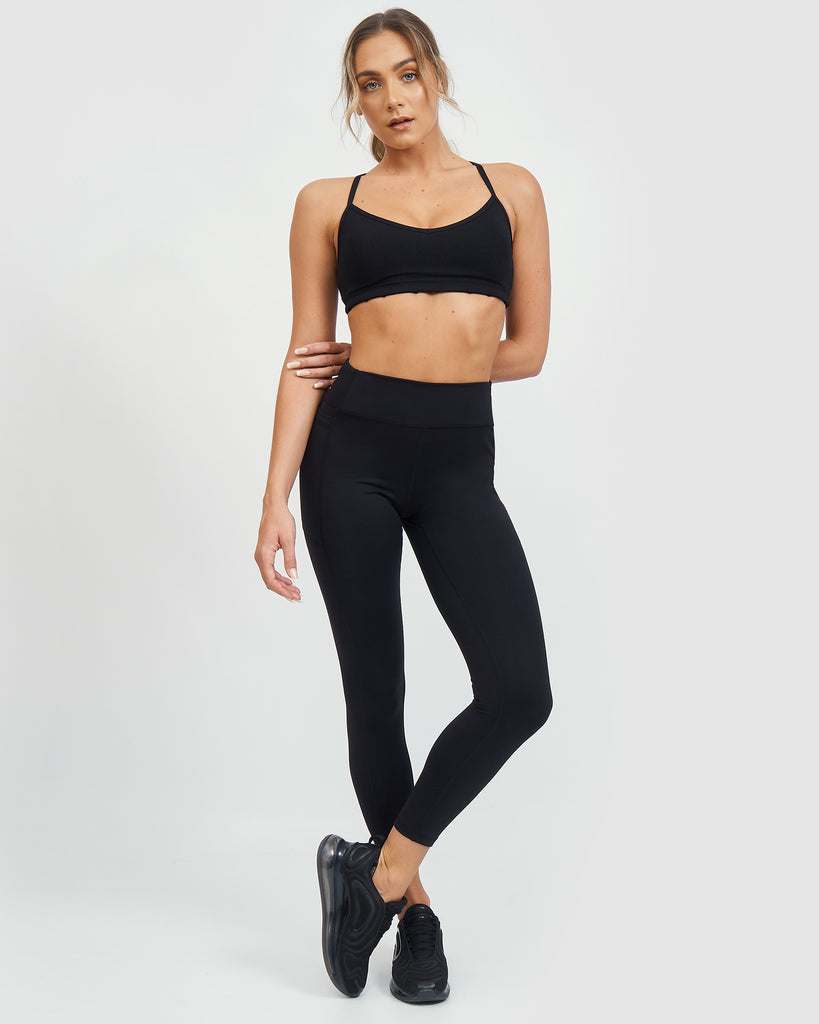 Core Trainer Elevate 7/8 Tights Black
