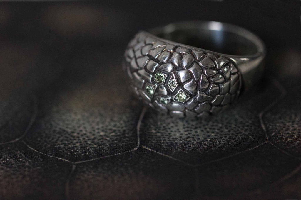Catherine Hills Jewellery: Turtle ring commission