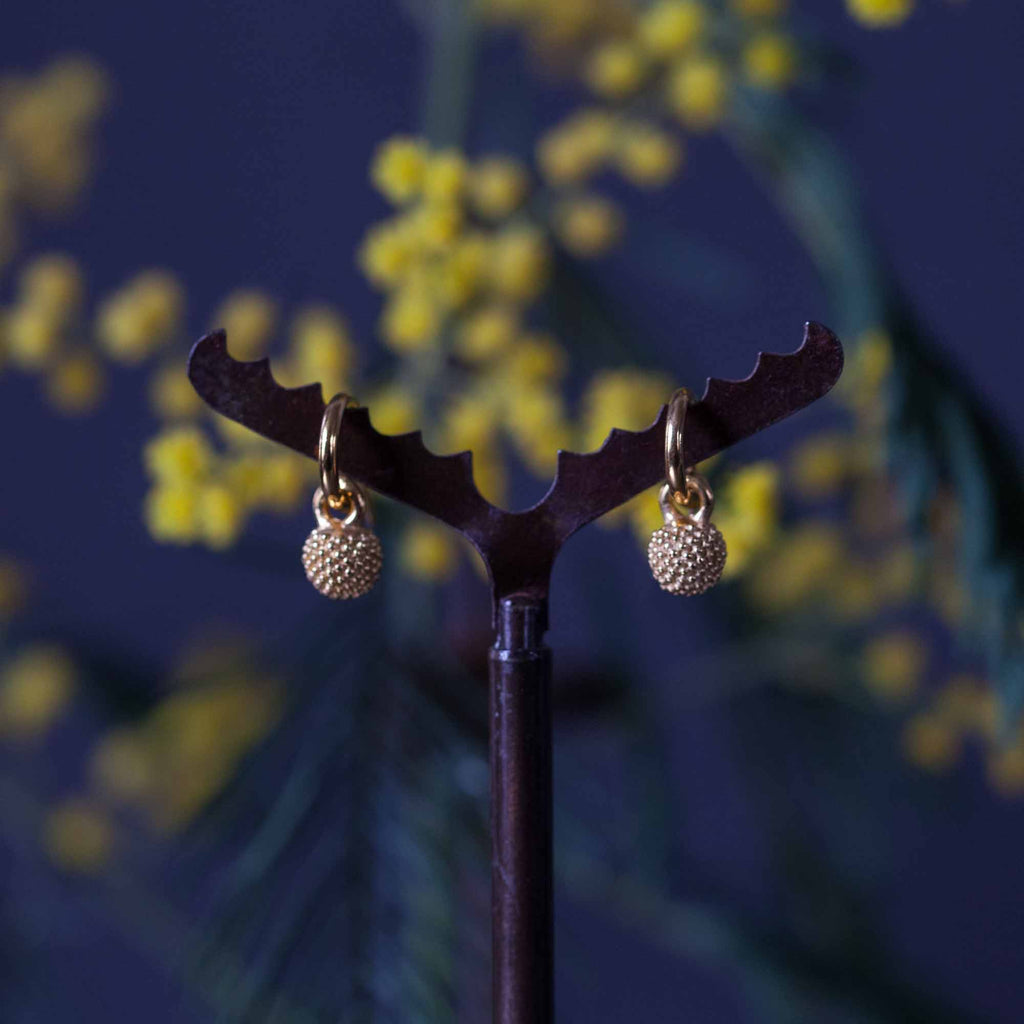 Catherine Hills Jewellery: Mimosa stud earrings