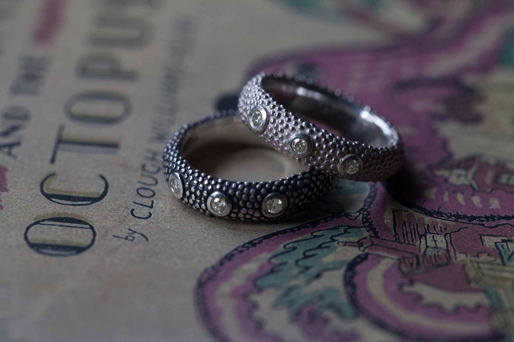 Catherine Hills Jewellery: Octopus diamond ring
