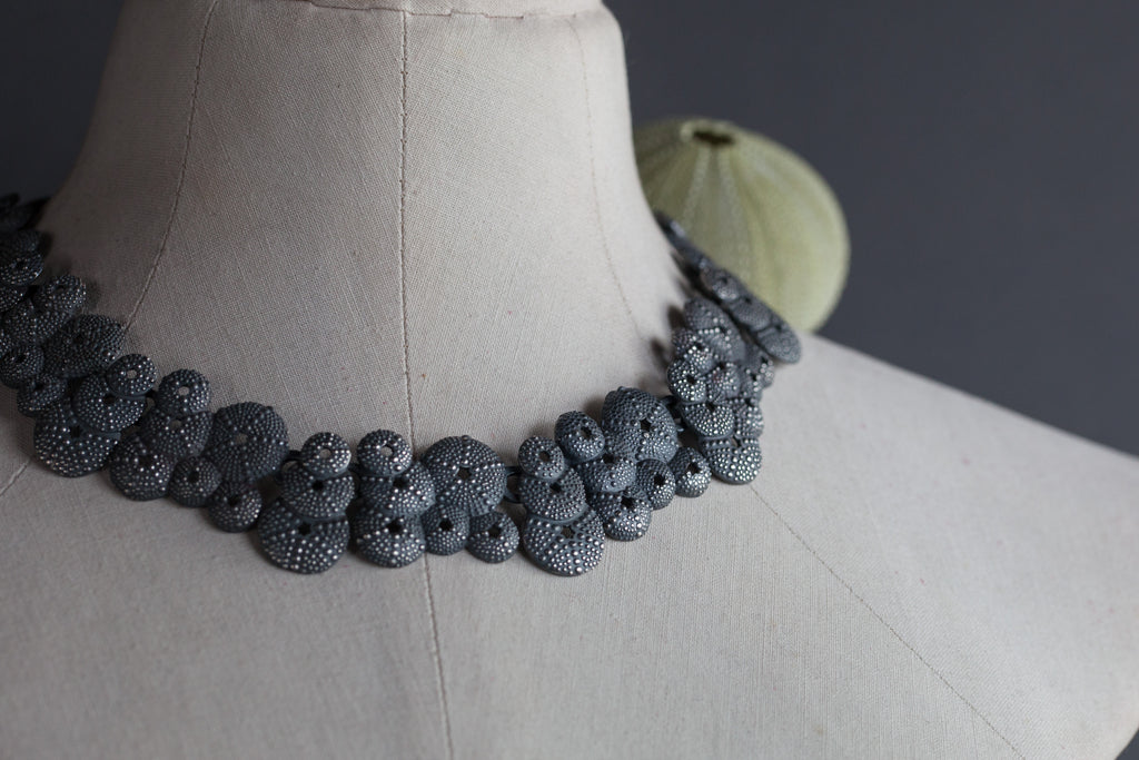 Catherine Hills Jewellery: Sea urchin necklace