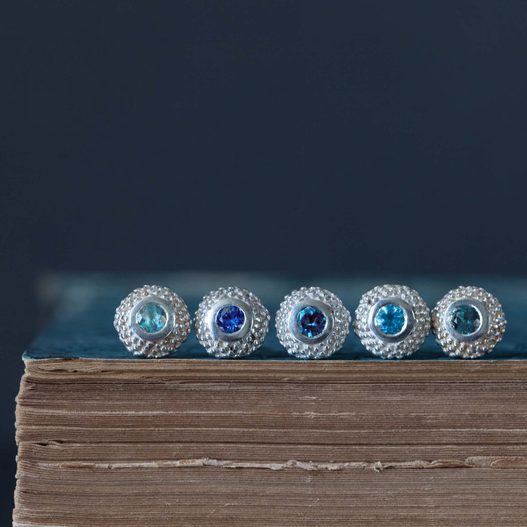 Catherine Hills Jewellery Set blue pollen studs