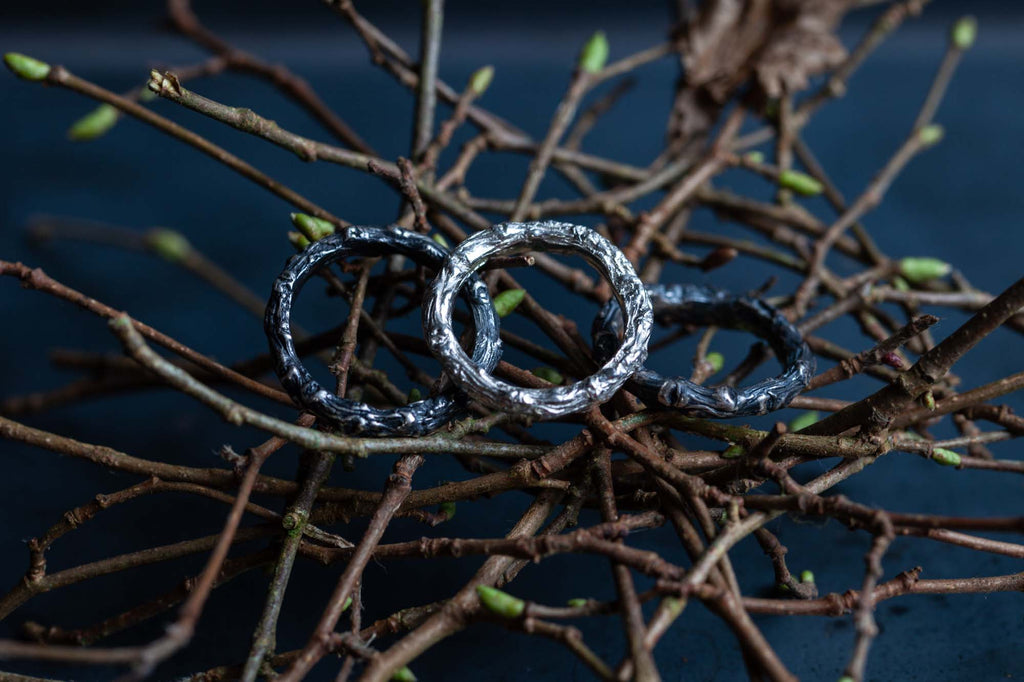 Catherine Hills Jewellery twig rings